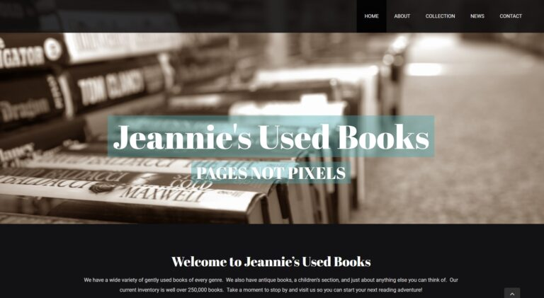 Jeannie's Used Books