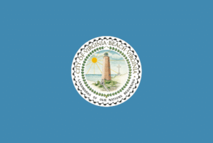 City of Virginia Beach VA Flag